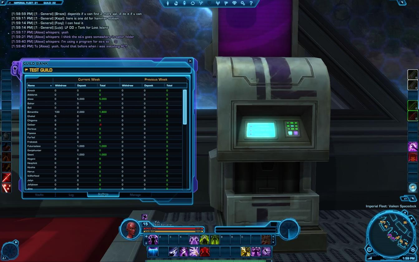 swtor - la banque de guilde  1 2