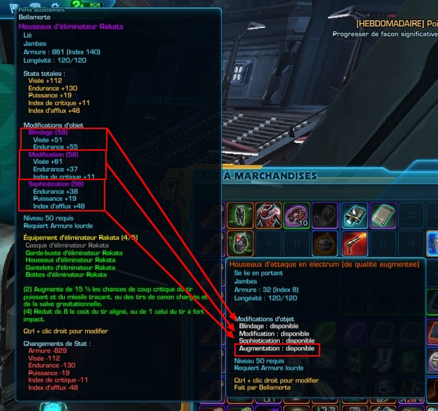 SWTOR - Optimiser son équipement JcE - Game-Guide