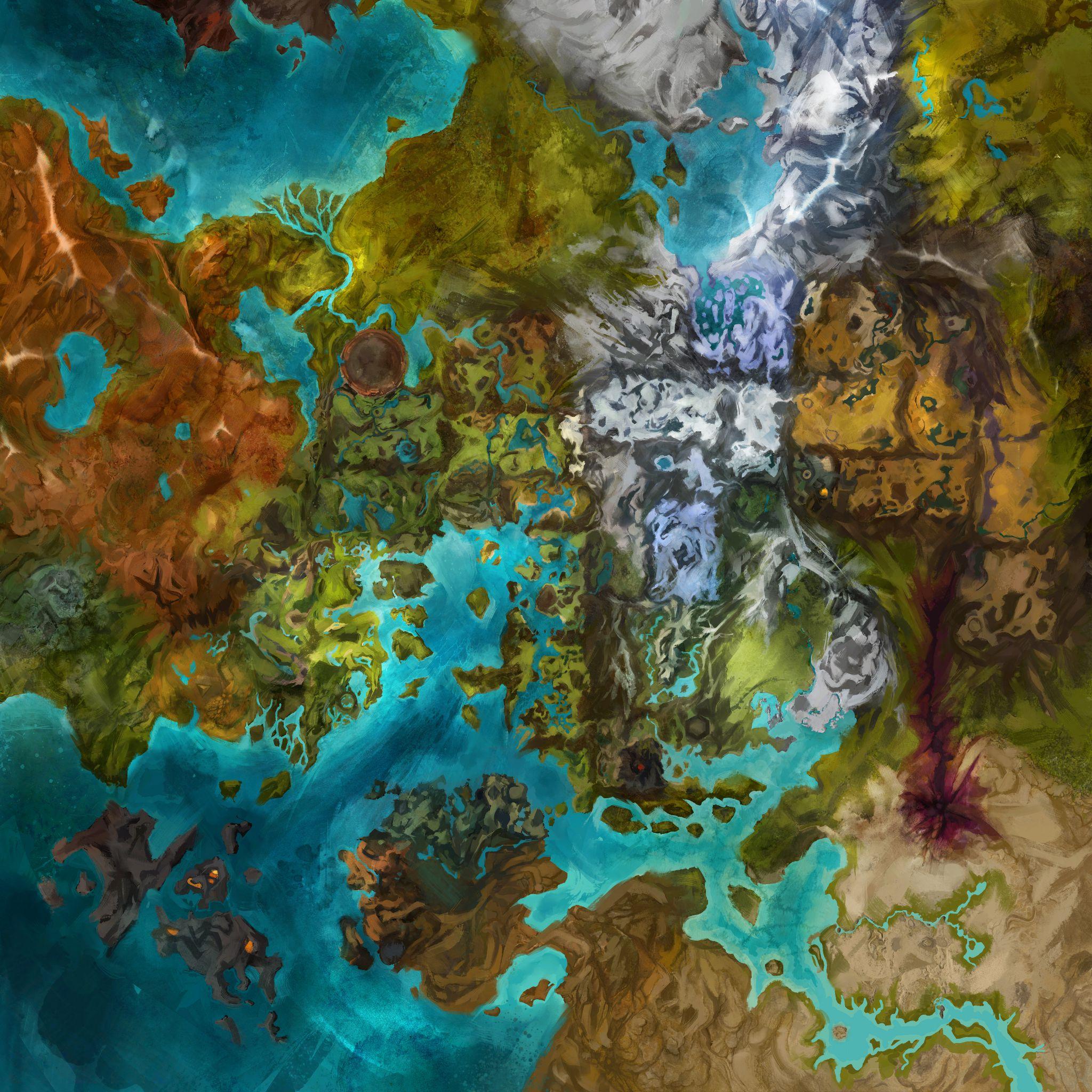 GW2   L'interface Utilisateur et la Carte   Game Guide