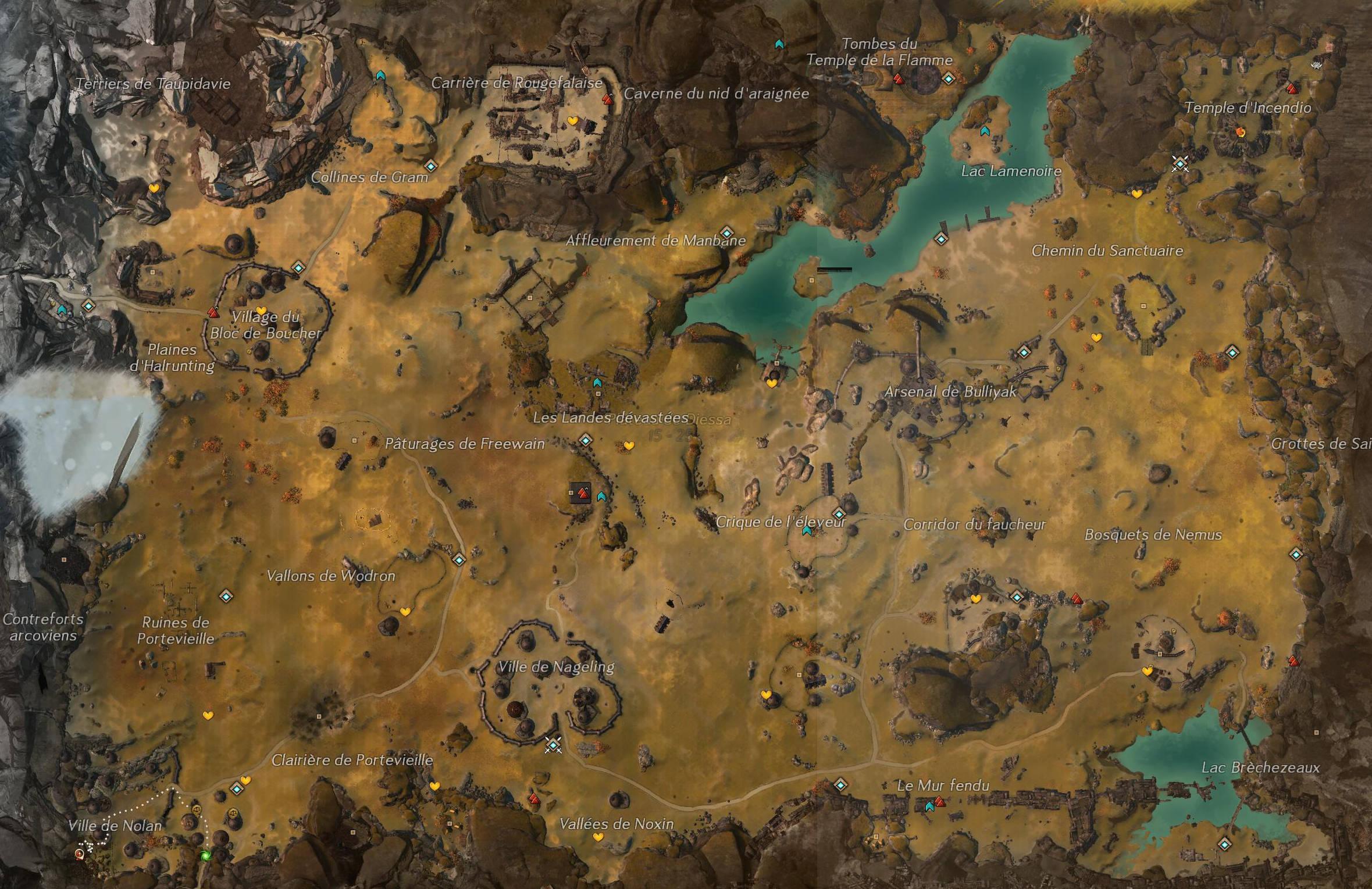 Guild Wars  Ville De Nolan