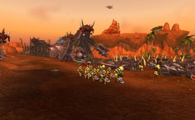 how to get to seige of ogrimmar