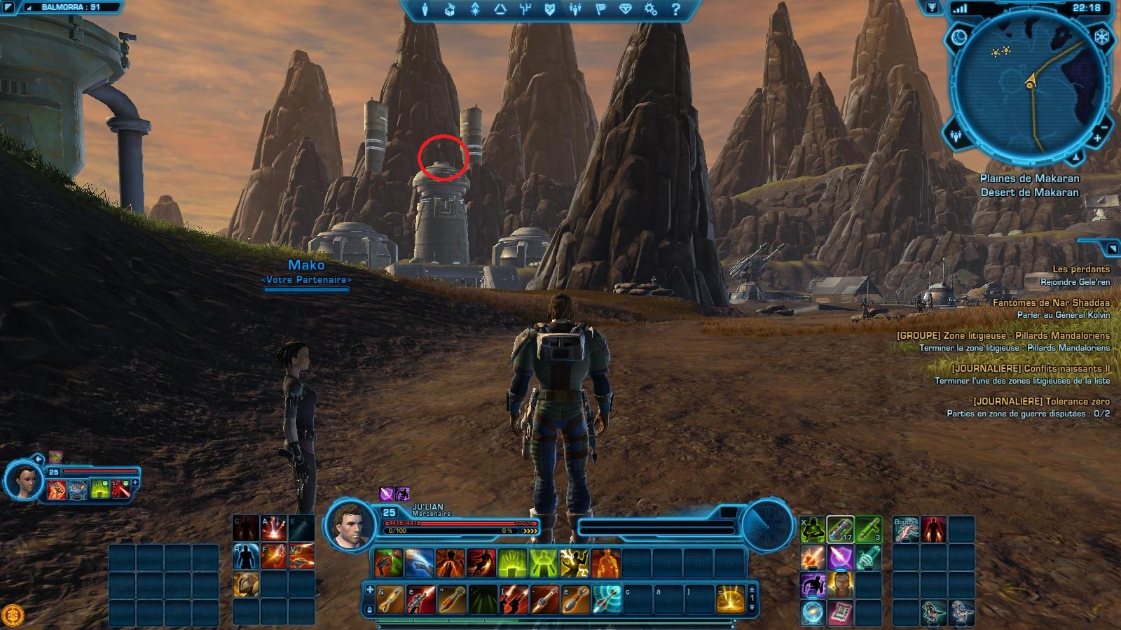 swtor how to get to balmorra