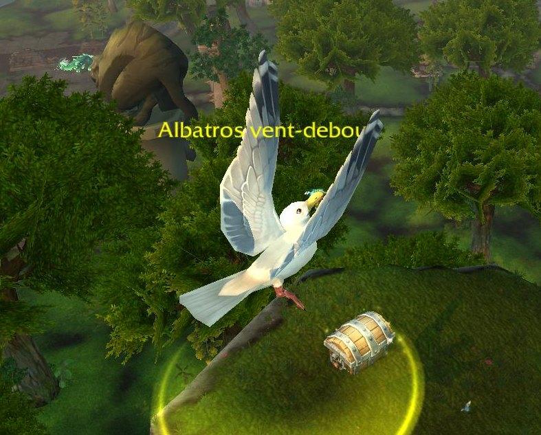 comment prendre un albatros wow