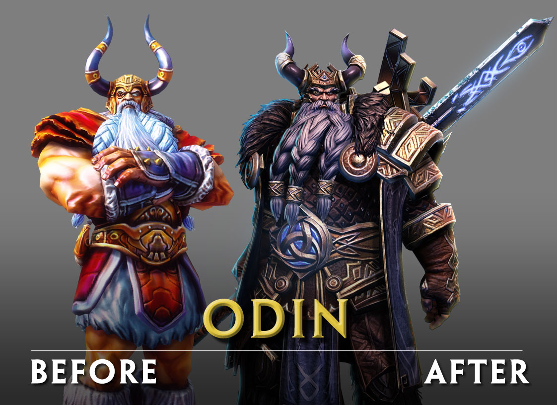 Odin_before and after