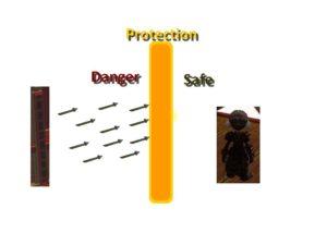 protection du gong gw2
