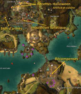 Carte halloween GW2 Arche du Lion