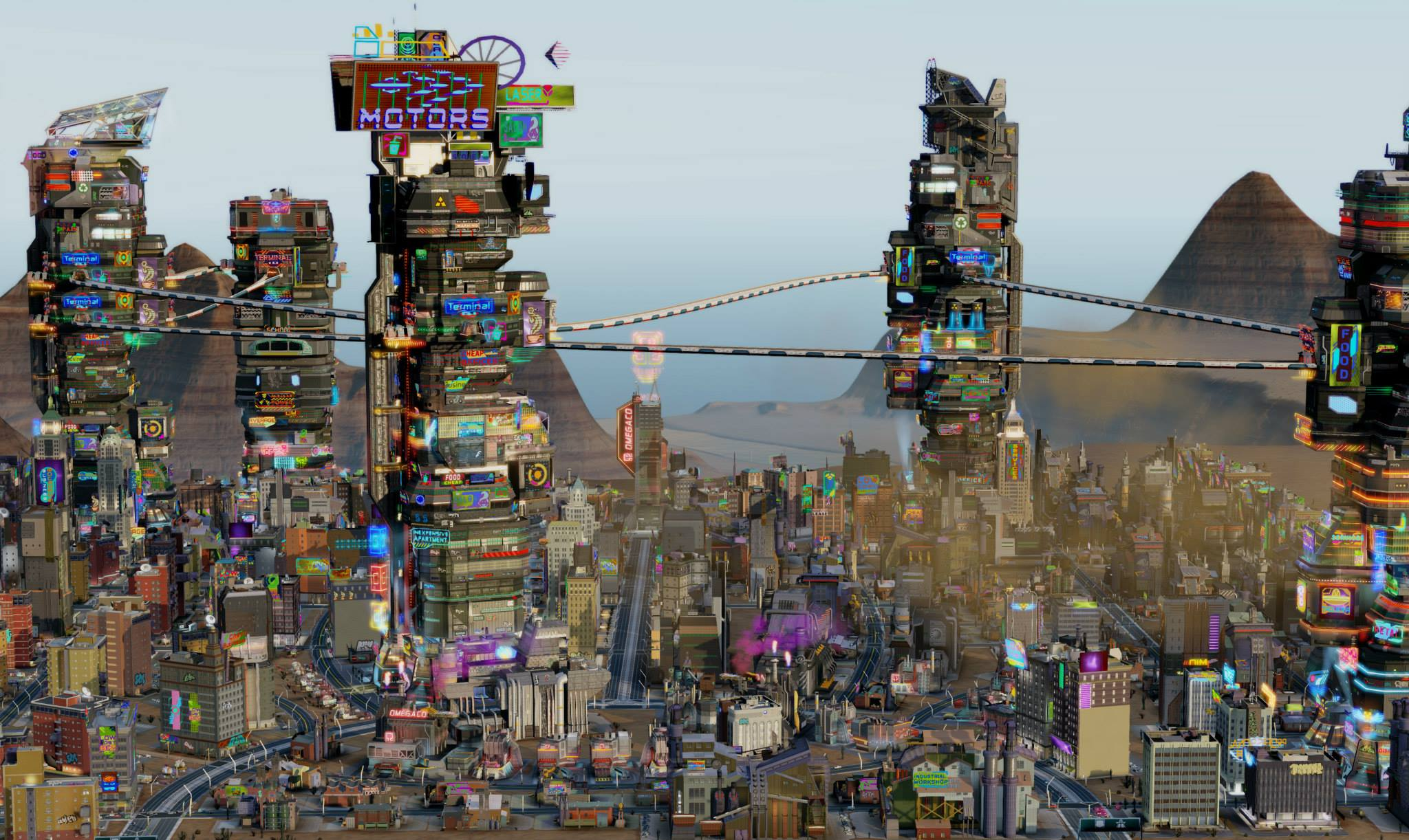 how to get omegaco simcity
