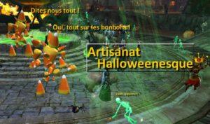 en-tête Artisanat Halloween
