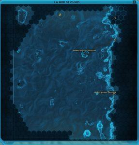 Tatooïne event carte du cratère