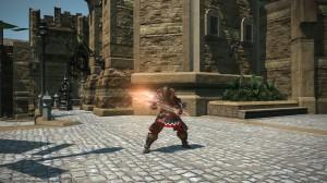 Un Guerrier prêt au combat