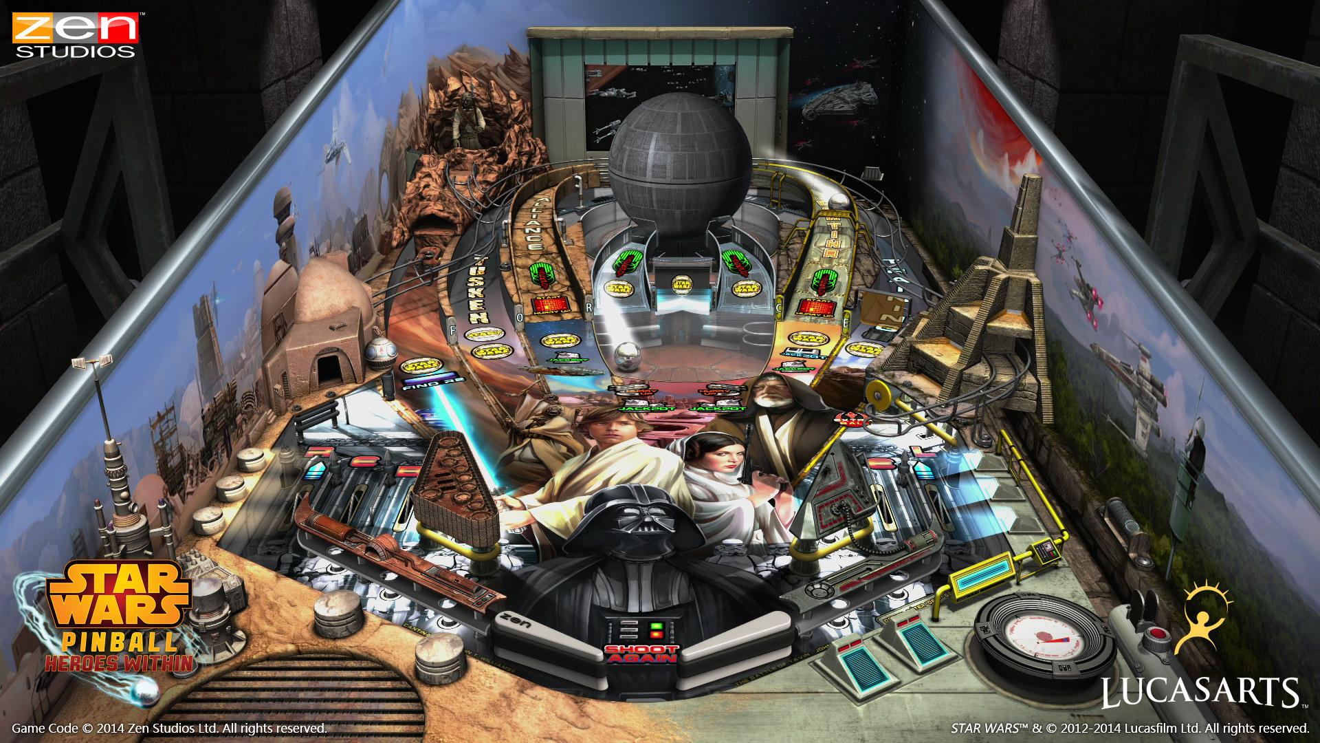Star Wars Pinball - The Clone Wars Trailer - GameSpot