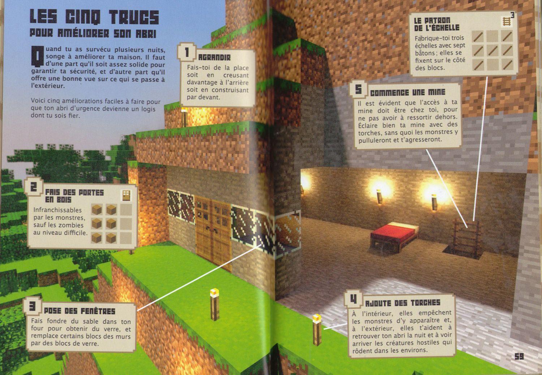 Minecraft guides officiels - Minecraft guide de construction ...