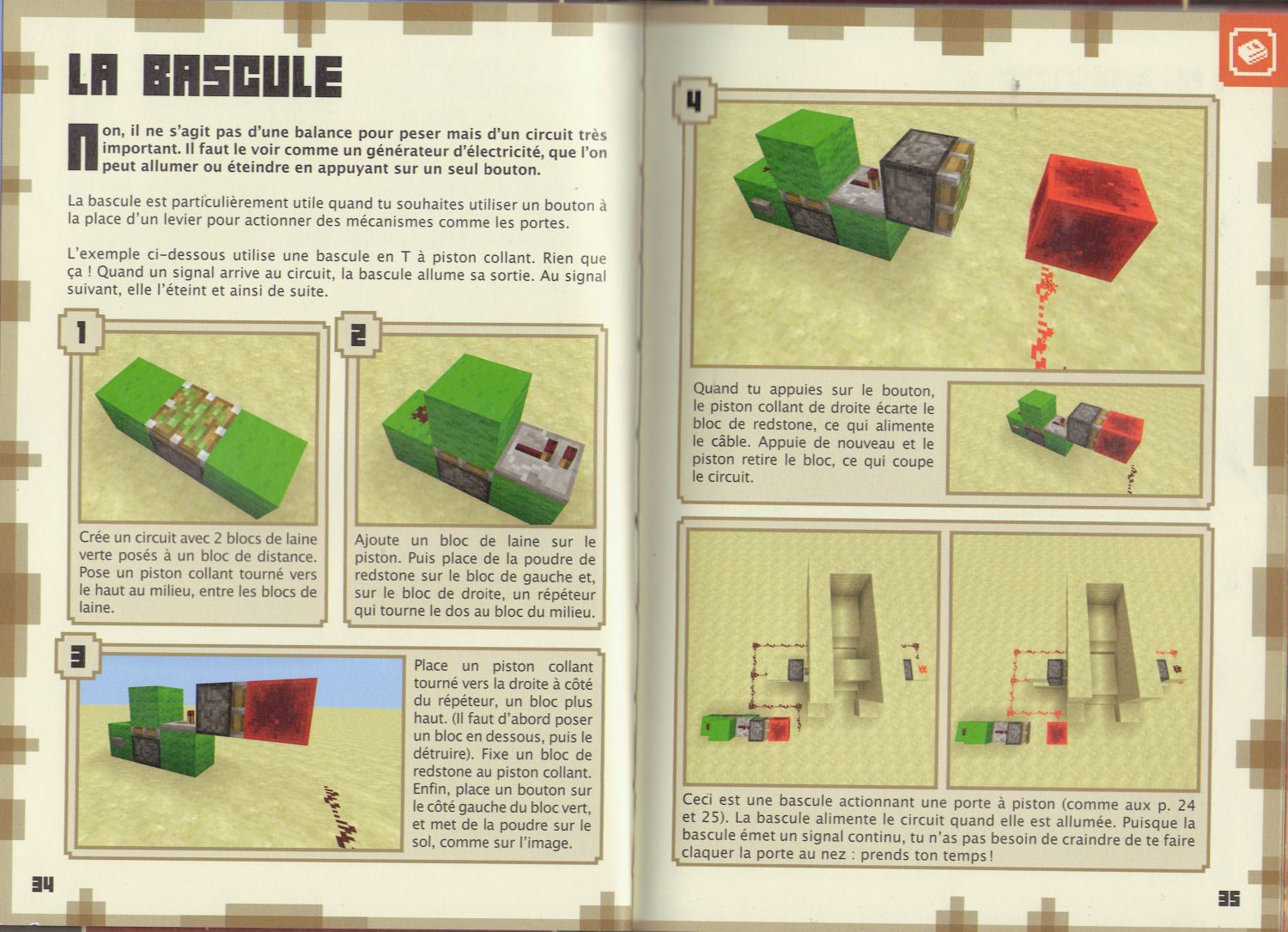 minecraft redstone le guide officiel gratuit
