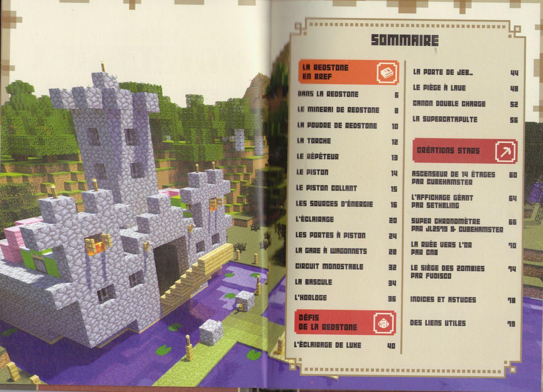 Minecraft redstone handbook - Minecraft guide de construction ...