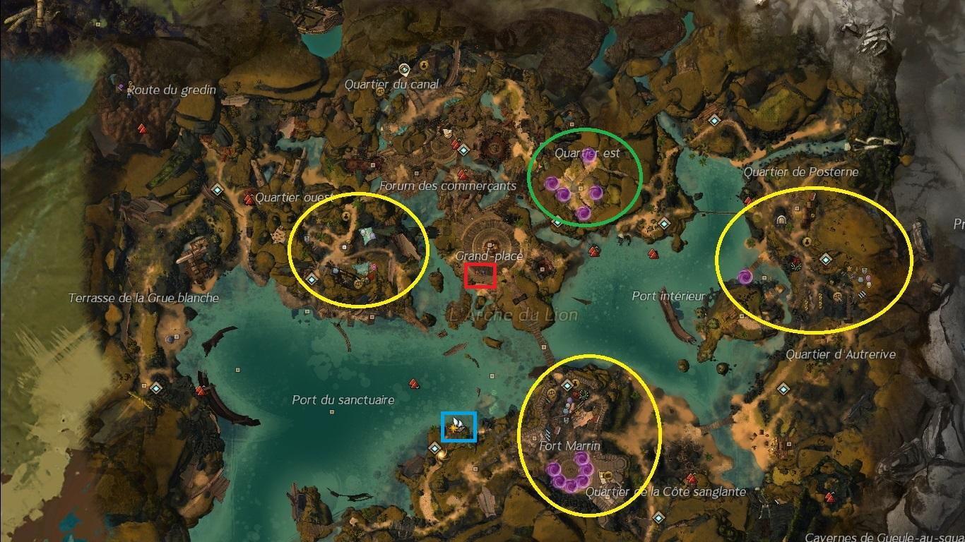 Guild Wars  Ville