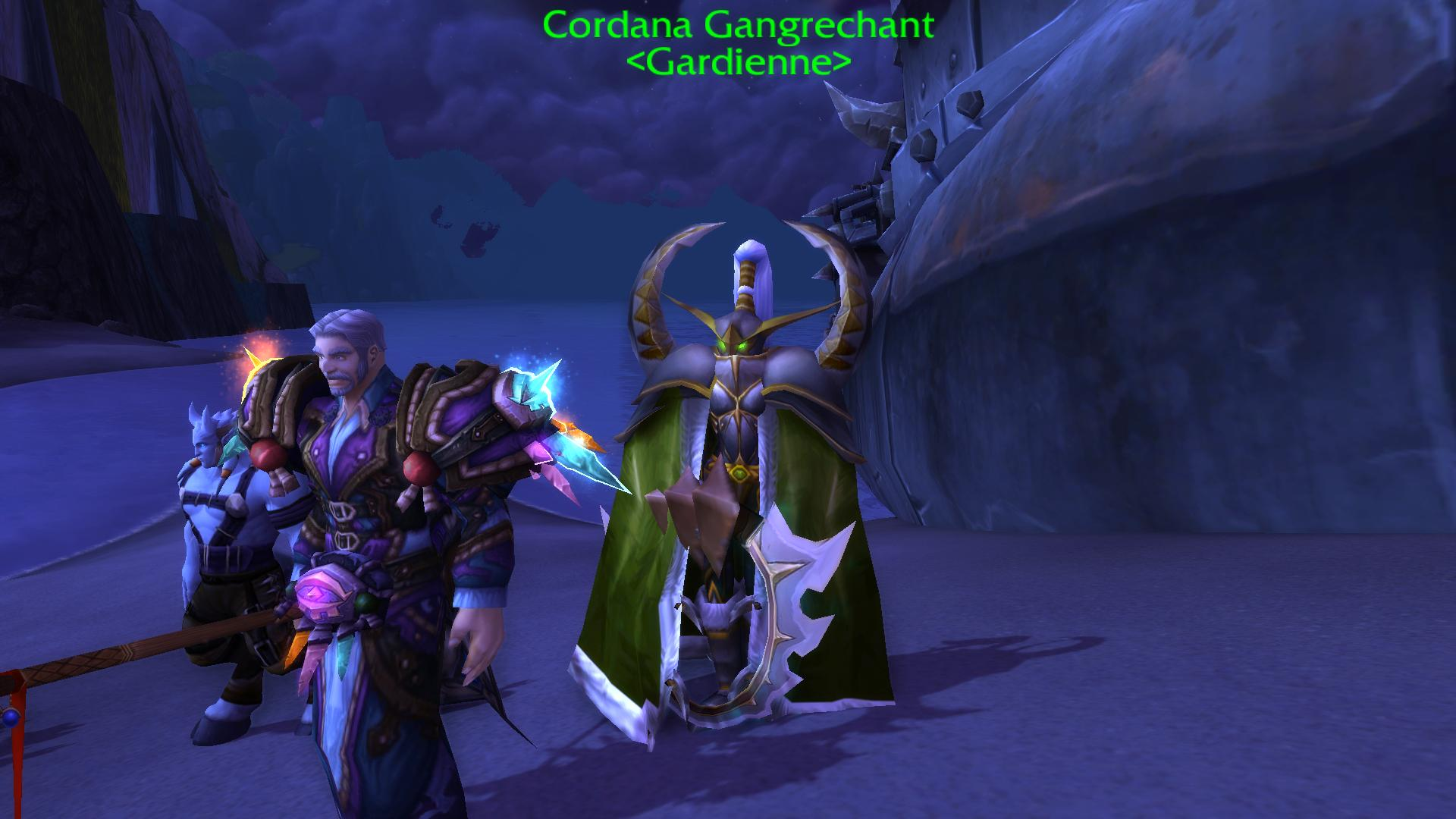Rencontre interrompue wow