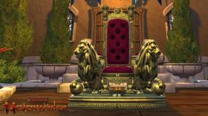 Trone du Lion