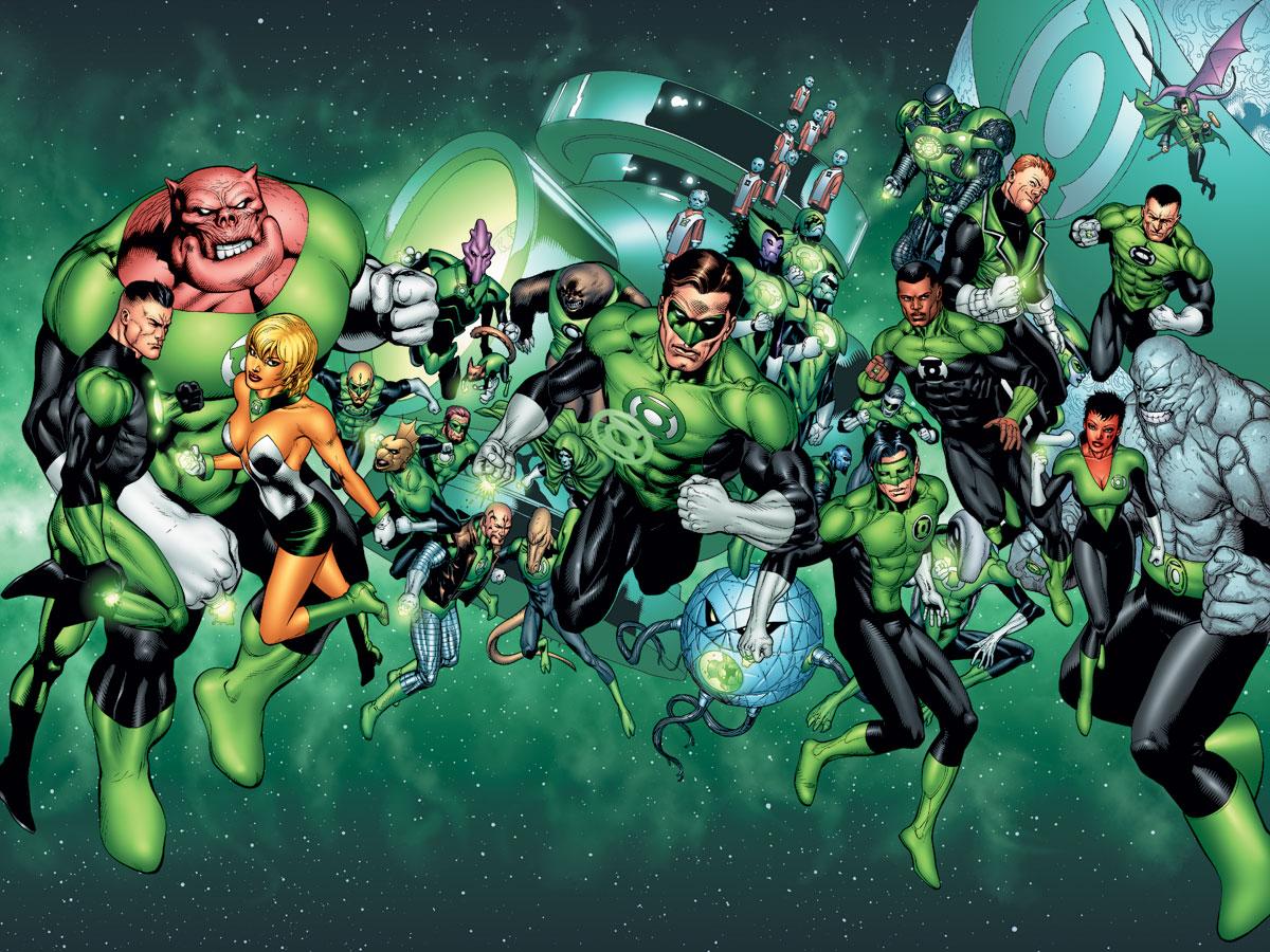 """GREEN LANTERN /& Cyborg Plug /& Play DC COMICS Super Héros 2014 3/"""" très difficile à trouver"""