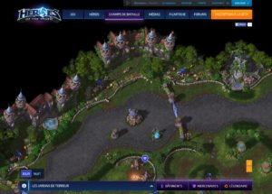 Heroes - carte interactive