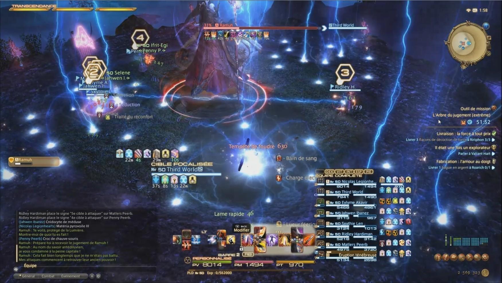 FFXIV - Ramuh (extrême) - Game-Guide