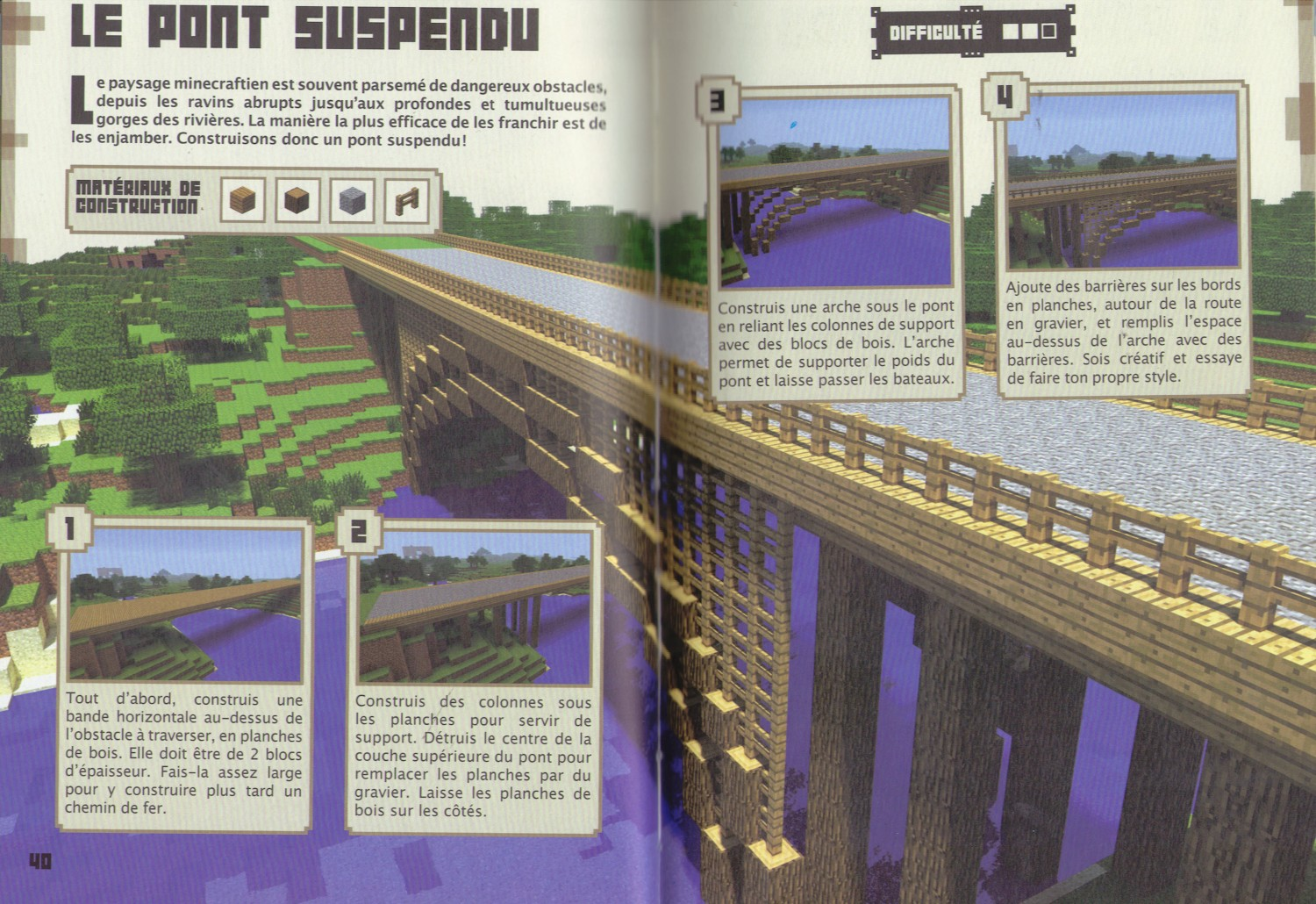 Minecraft guides officiels 2 game guide - Guide de construction minecraft ...