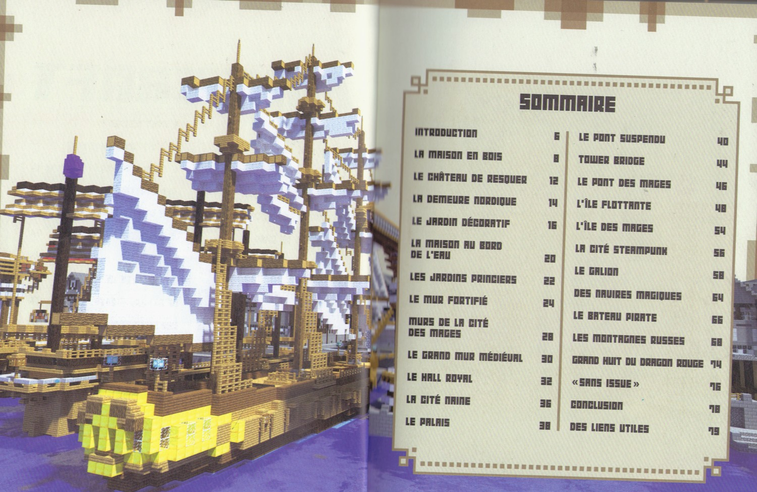 Minecraft guides officiels 2 game guide - Minecraft guide de construction ...