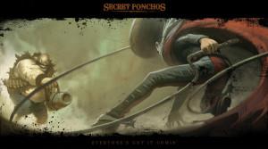Le Phantom Poncho est certainement le personnage qui vous croiserait le plus.