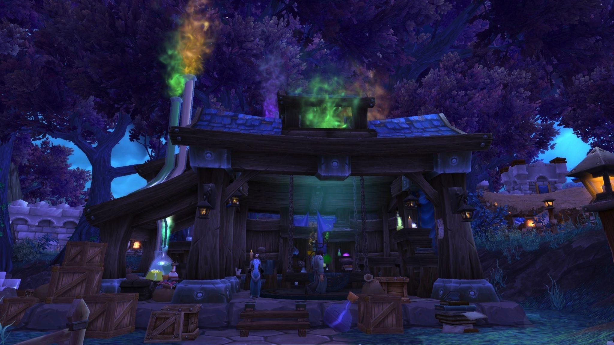 wow garrison alchemy lab level 3
