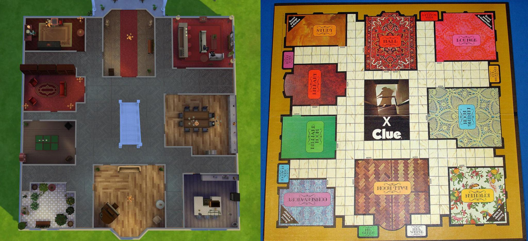 Les Sims 4 - Le manoir de Cluedo - Game-Guide