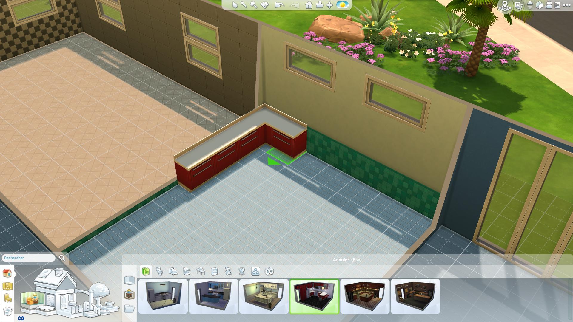 Les sims 4 construire sa maison 3 game guide for Exterieur sims 4