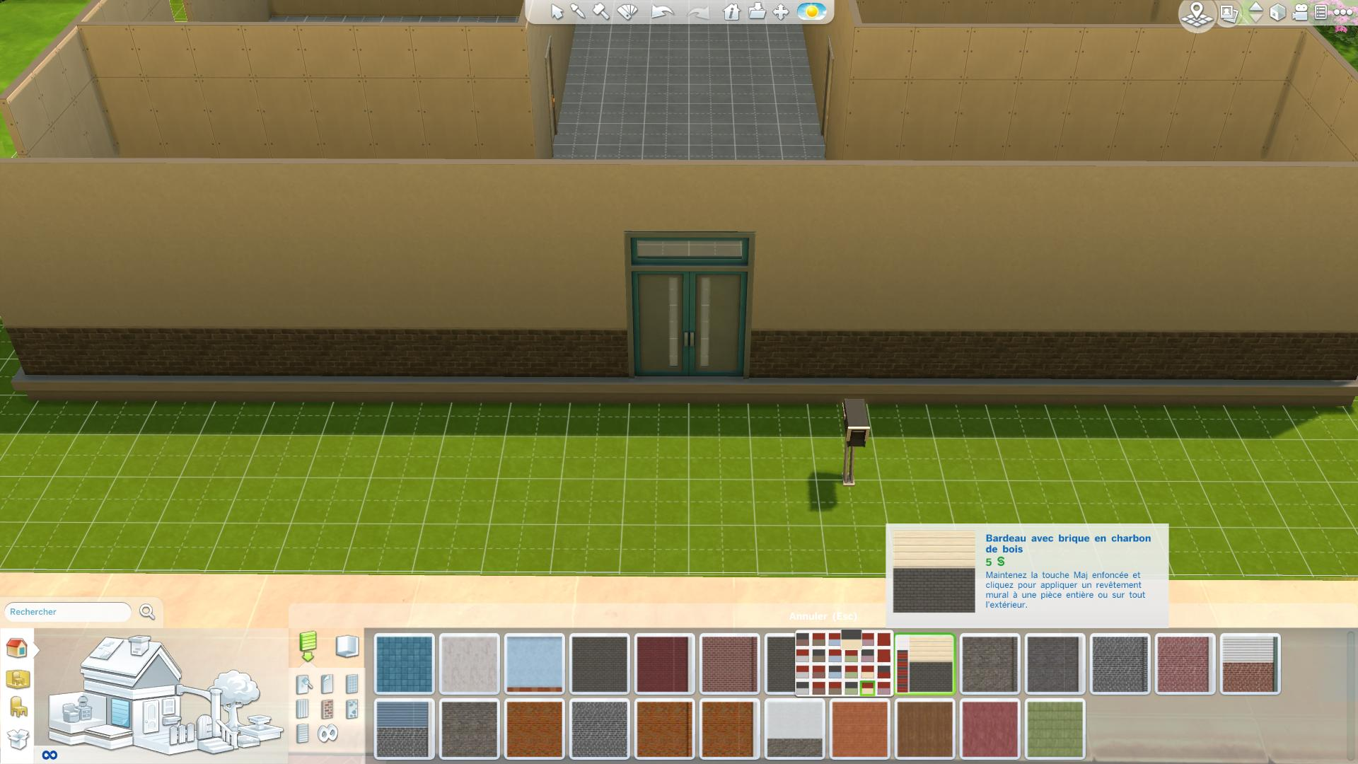 Les sims 4 construire sa maison 2 game guide for Exterieur sims 4