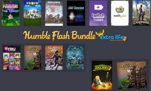 Humble Bundle Flash : Extra life