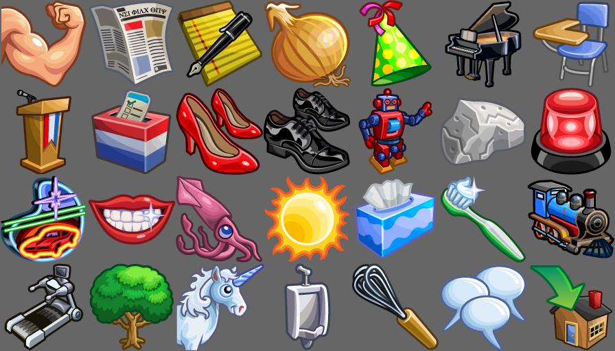 de nouvelles icones pour votre bureau game guide. Black Bedroom Furniture Sets. Home Design Ideas