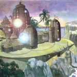 Ancient Astronauts scenic view III