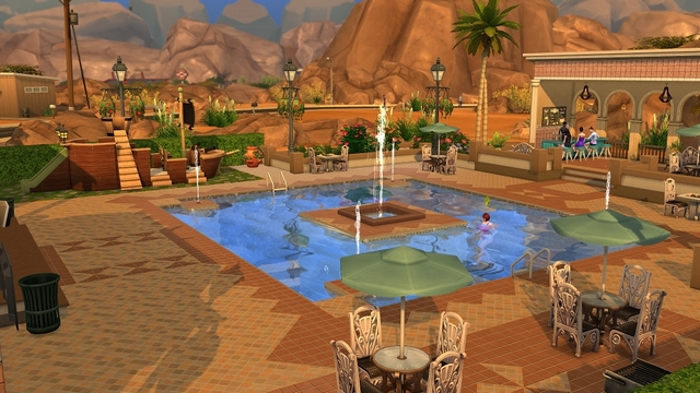 Les sims 4 a nous les piscines game guide for Piscine hors sol qui s effondre