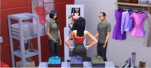 SIMSoucis - Sims 3 La Grossesse chez les Sims Tomber