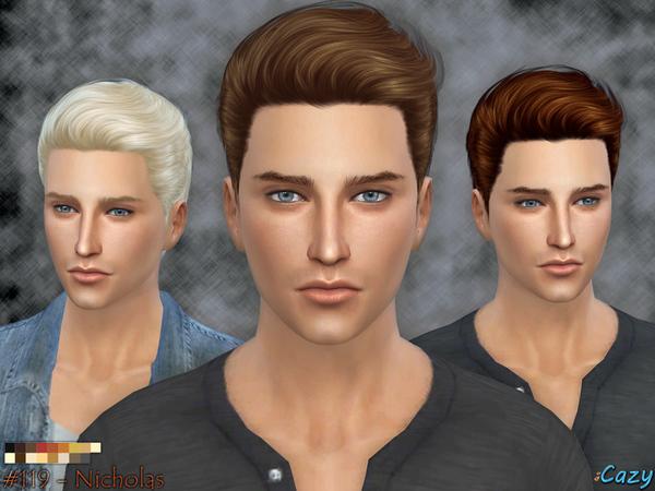 Extrêmement Coiffure Homme Sims 2 | pansyperylaura1 site LV01