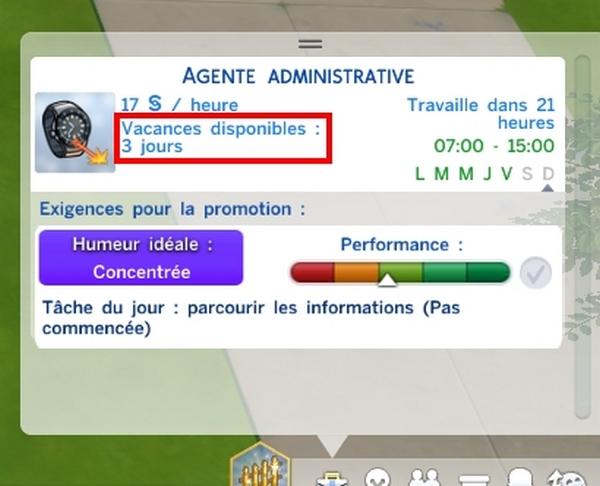 99cfcd3f601 Les Sims 4 – Congés payés - Game-Guide
