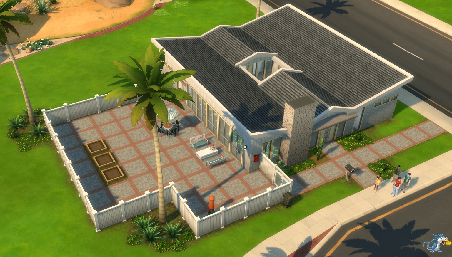 Les Sims 4 Oasis Springs La Famille Colocataires Game