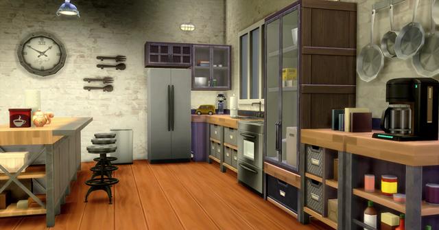Simcity les sims 4 coup de balai en cuisine game guide Meuble de cuisine sims 4 qui s imbrique