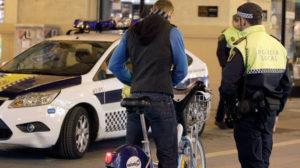 voiture de police espgnol