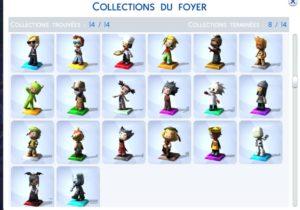 Collection de Trophées MySims