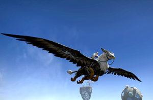 FFXIV - Heavensward-Griffon01