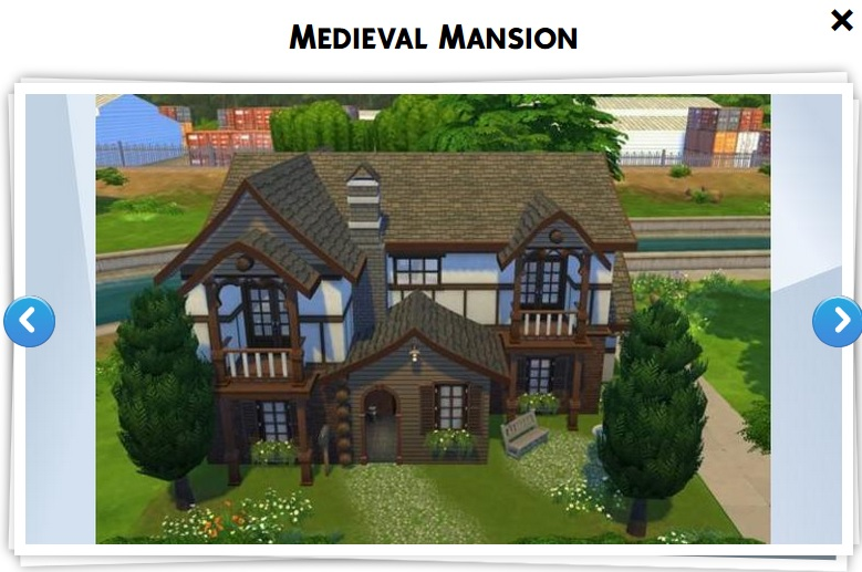 Les sims 4 galerie 4 game guide for Maison prefabriquee sims 4