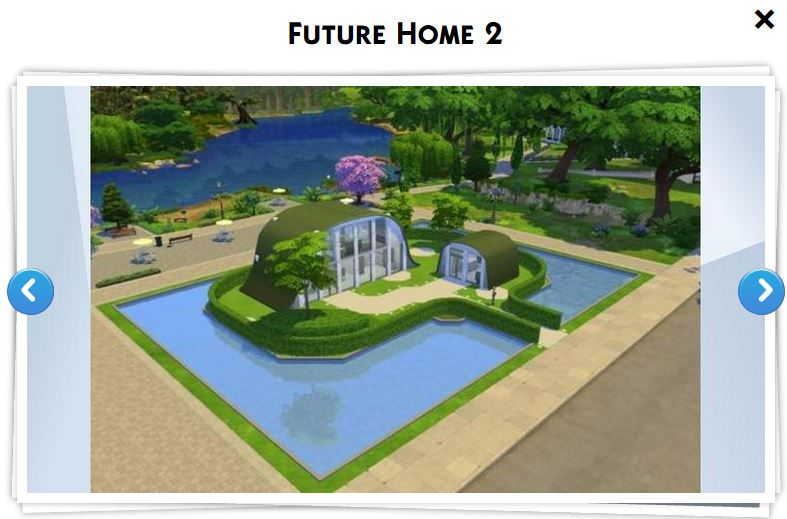 Les sims 4 galerie 5 game guide for Maison prefabriquee sims 4