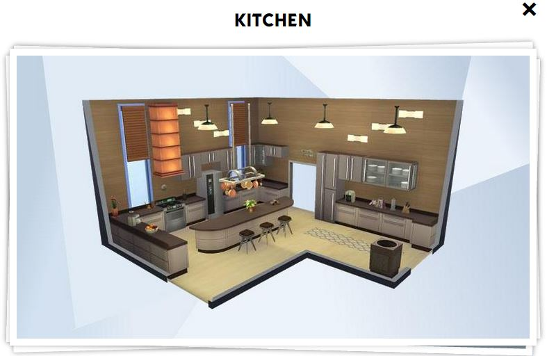 Les sims 4 galerie 6 game guide for Sims 3 cuisine moderne