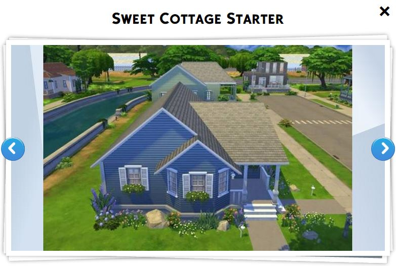 Les sims 4 galerie 8 game guide for Maison prefabriquee sims 4
