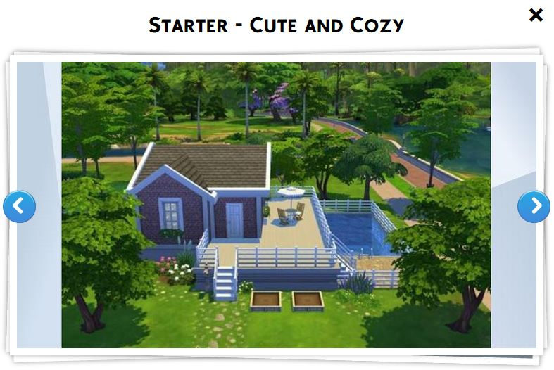 Les sims 4 galerie 9 game guide for Maison prefabriquee sims 4