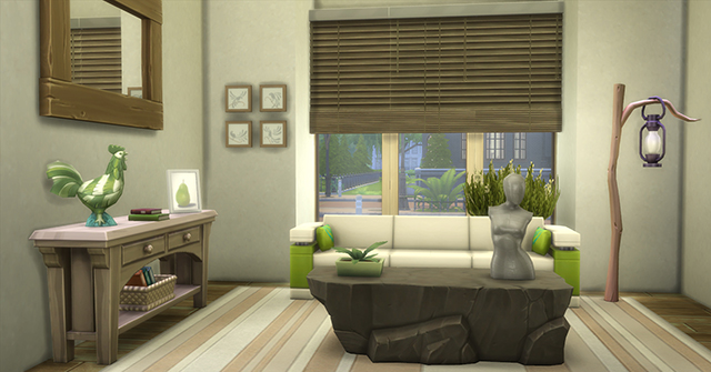 Les sims 4 quand dame nature s 39 occupe de la d co game for Decoration maison sims 4