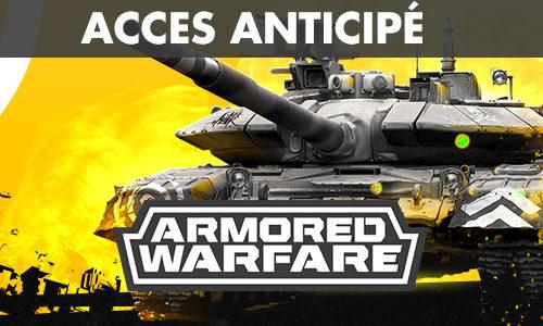 Armored Warfare – Clé de l'accès anticipé